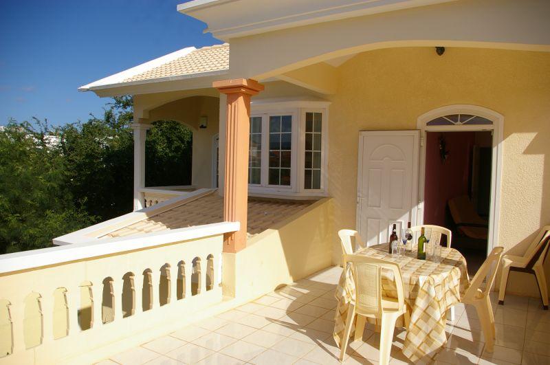 Vista dal terrazzo Affitto Villa  11562 Flic-en-Flac
