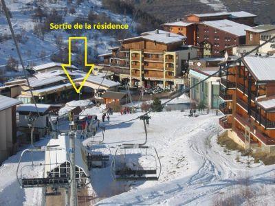 Vista nelle vicinanze Affitto Appartamento 1168 Les 2 Alpes