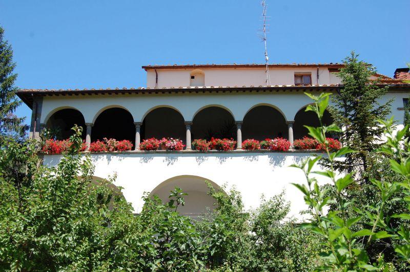 Vista esterna della casa vacanze Affitto Villa  11865 Arezzo