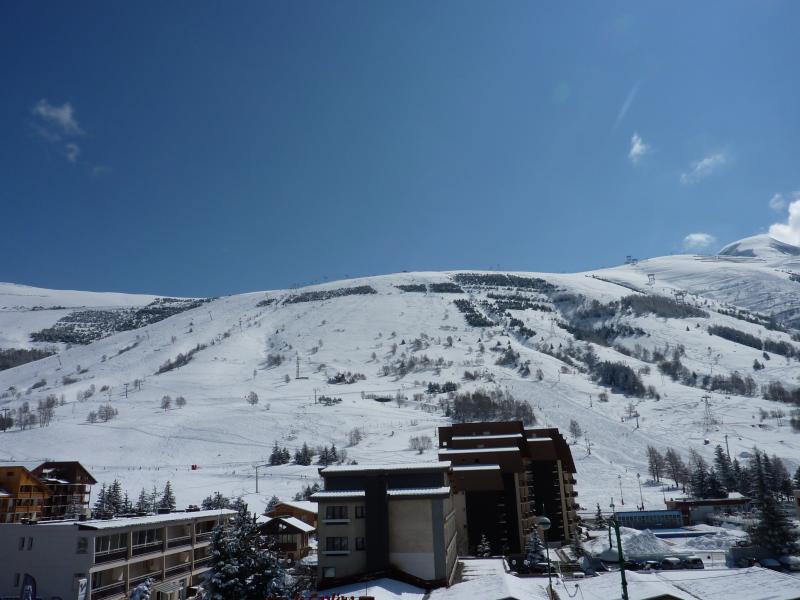 Vista dal balcone Affitto Monolocale 1201 Les 2 Alpes