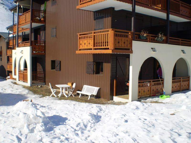 Giardino Affitto Appartamento 1242 Les 2 Alpes