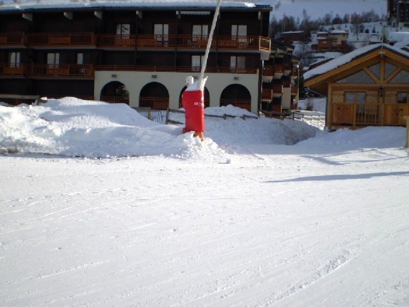 Vista esterna della casa vacanze Affitto Appartamento 1242 Les 2 Alpes