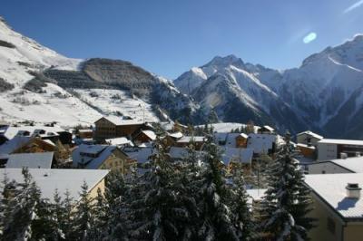 Vista dal balcone Affitto Appartamento 1297 Les 2 Alpes