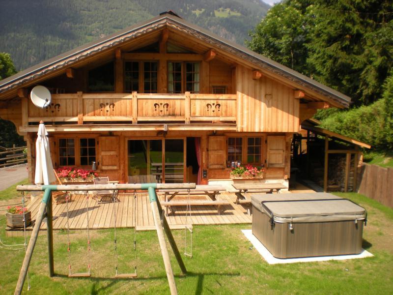 Vista esterna della casa vacanze Affitto Chalet 1412 Chamonix Mont-Blanc (Monte Bianco)