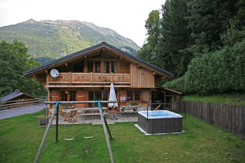 Giardino Affitto Chalet 1412 Chamonix Mont-Blanc (Monte Bianco)