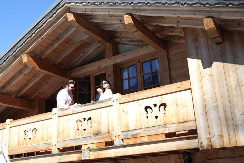 Balcone Affitto Chalet 1412 Chamonix Mont-Blanc (Monte Bianco)