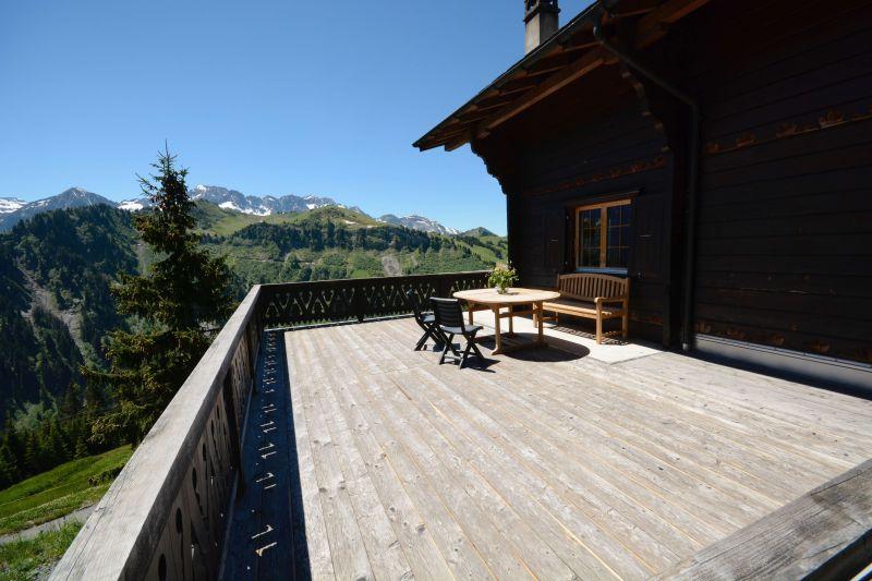 Vista dal balcone Affitto Chalet 14794 Les Crosets