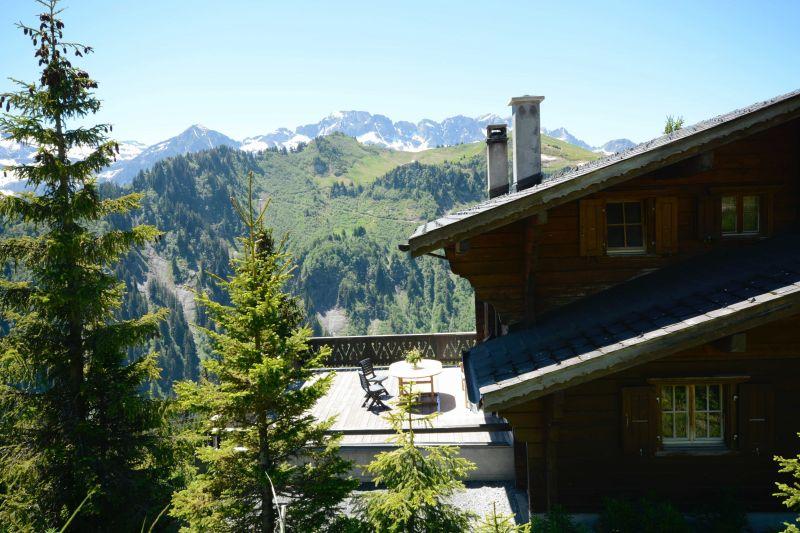 Vista esterna della casa vacanze Affitto Chalet 14794 Les Crosets