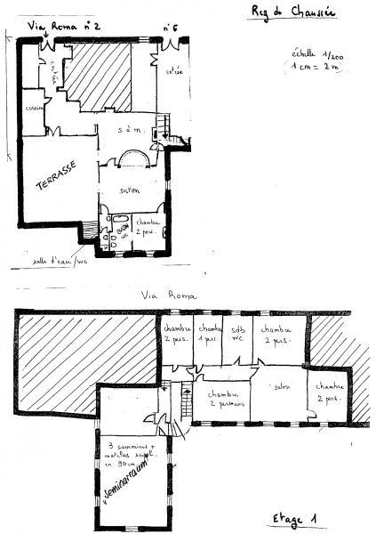 Pianta casa vacanze Affitto Casa 14841 Montalcino