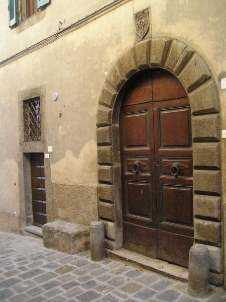 Vista esterna della casa vacanze Affitto Casa 14841 Montalcino
