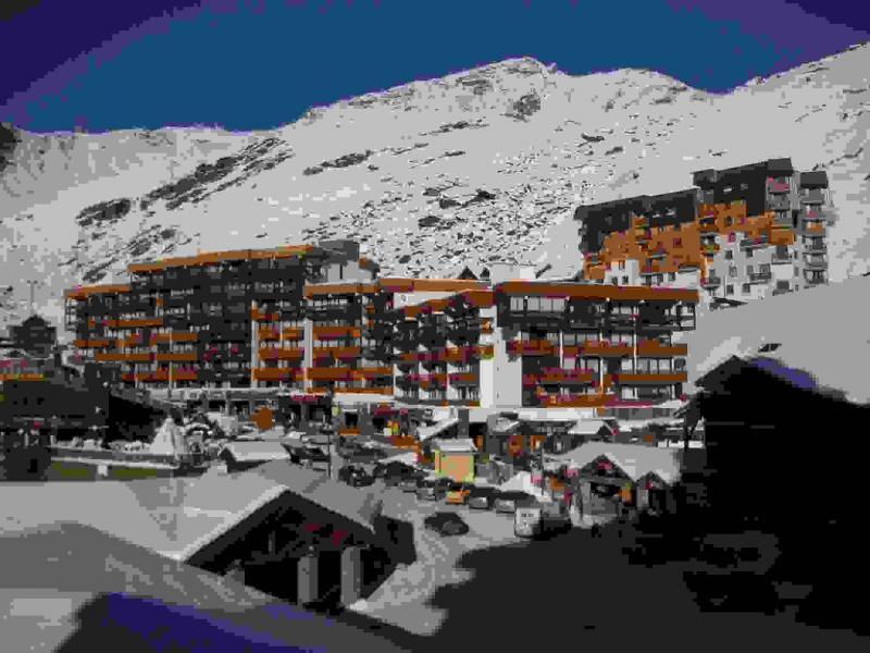 Vista dalla casa vacanze Affitto Monolocale 14883 Val Thorens