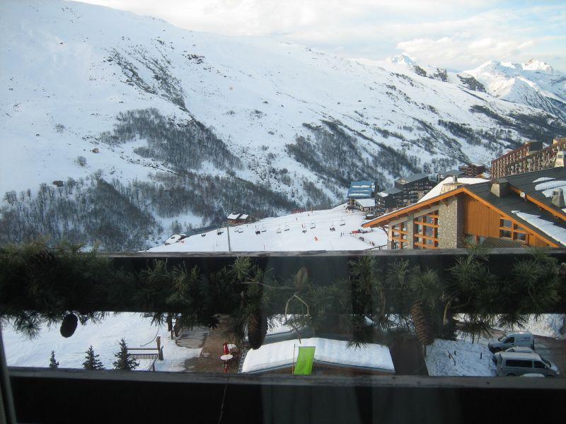 Vista dal balcone Affitto Appartamento 1629 Les Menuires