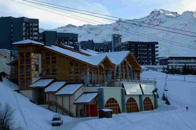 Vista dal terrazzo Affitto Appartamento 1631 Les Menuires