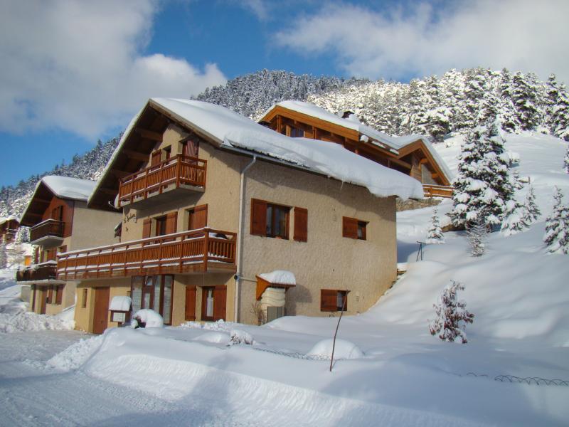 Vista esterna della casa vacanze Affitto Monolocale 16363 Monginevro