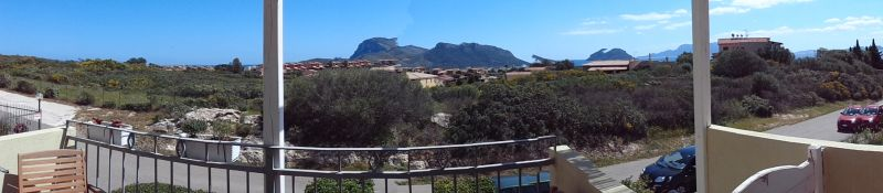 Vista dal terrazzo Affitto Appartamento 16537 Golfo Aranci