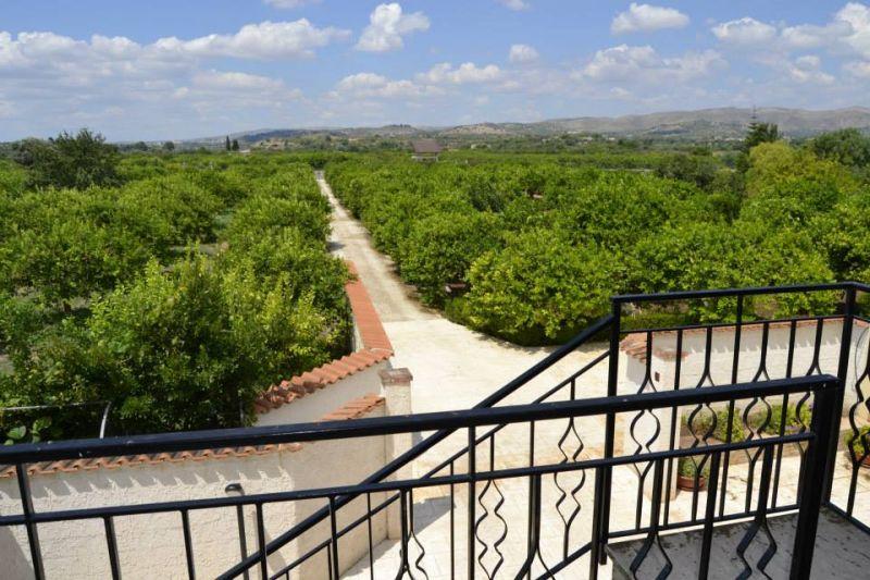 Vista dal terrazzo Affitto Villa  16606 Noto