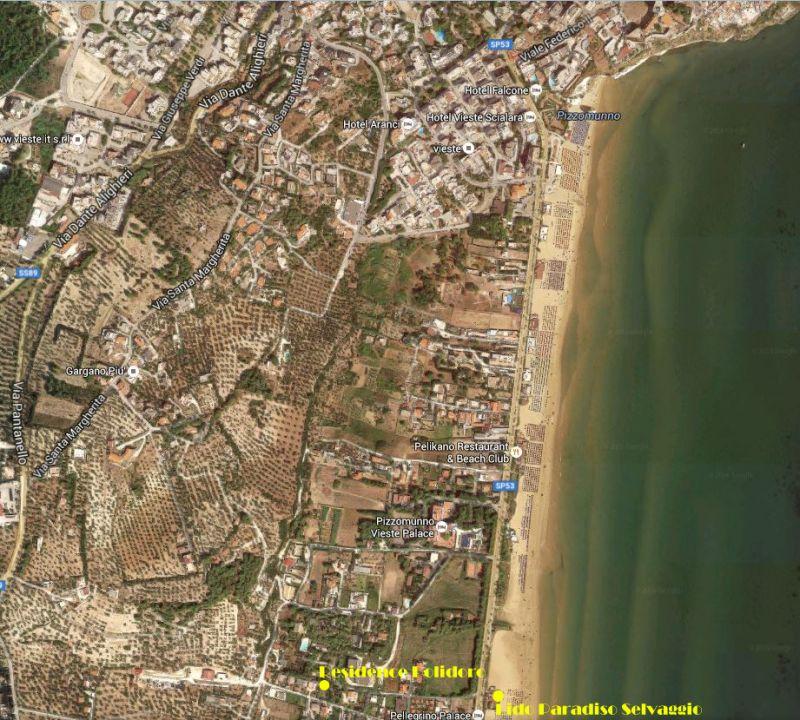 Mappa Affitto Appartamento 17051 Vieste
