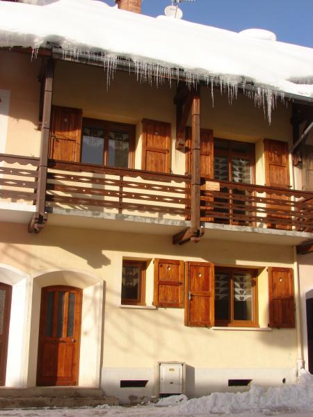 Vista esterna della casa vacanze Affitto Casa 17180 Monginevro