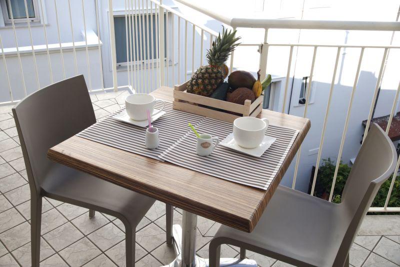 Vista dal balcone Affitto Appartamento 17943 Riccione