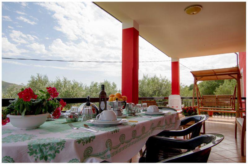 Vista dal terrazzo Affitto Villa  20490 Ascea