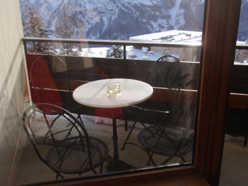 Vista dal balcone Affitto Appartamento 2078 Orcières Merlette