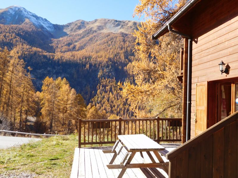 Terrazzo Affitto Chalet 2091 Les Orres