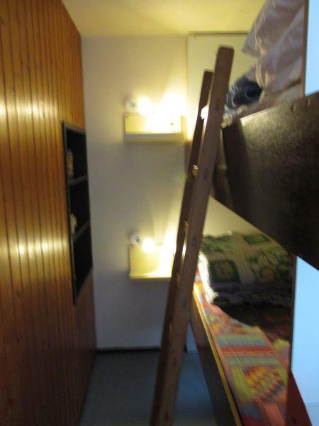 Zona notte cabina Affitto Monolocale 2130 La Plagne