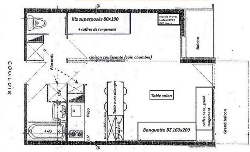 Affitto Appartamento 2251 La Plagne