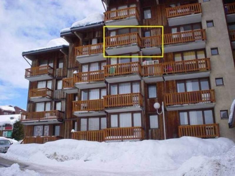 Vista esterna della casa vacanze Affitto Appartamento 2251 La Plagne