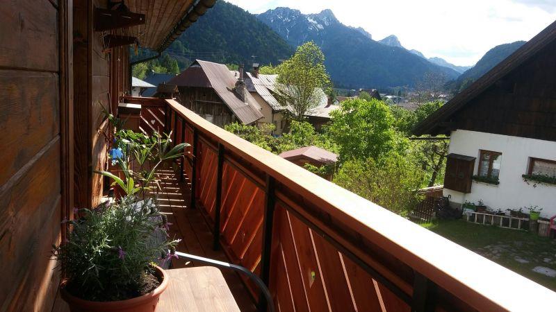 Vista dal balcone Affitto Monolocale 23090 Tarvisio