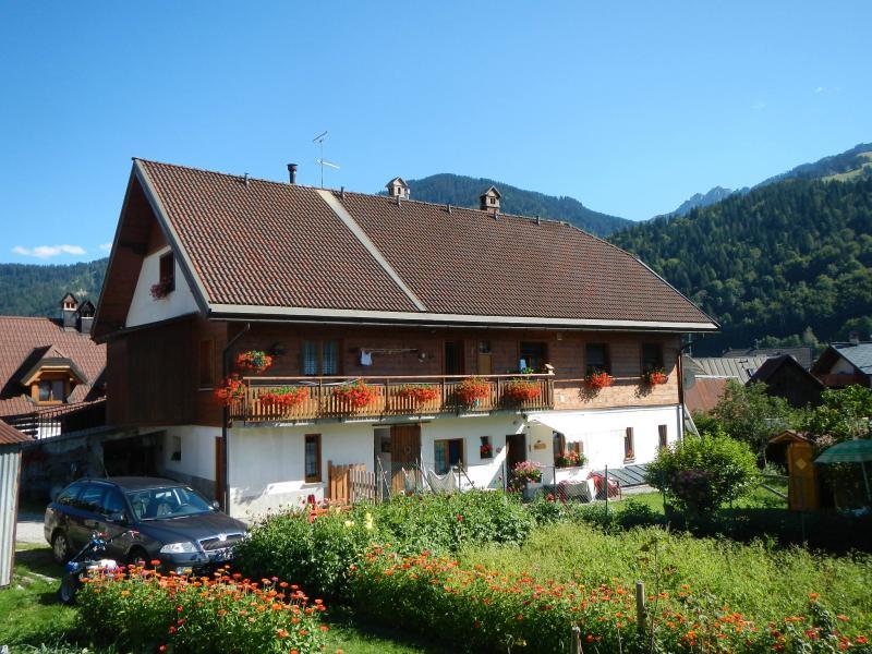 Vista esterna della casa vacanze Affitto Monolocale 23090 Tarvisio