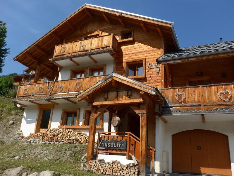 Vista esterna della casa vacanze Affitto Chalet 23134 Valloire