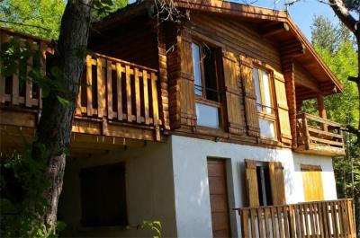 Vista esterna della casa vacanze Affitto Chalet 2335 Pra Loup