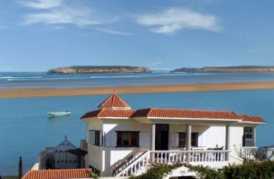 Vista dalla casa vacanze Affitto Villa  23490 Oualidia