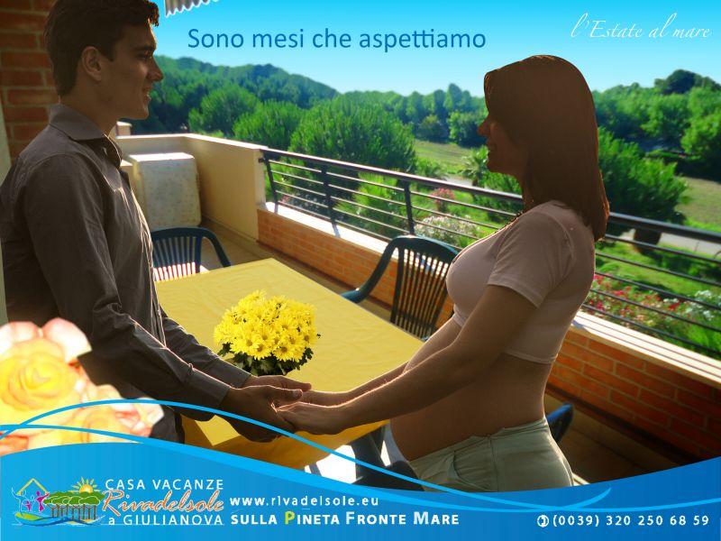 Vista dal terrazzo Affitto Appartamento 23634 Giulianova