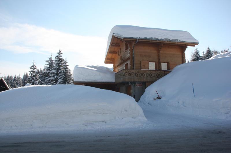 Vista esterna della casa vacanze Affitto Chalet 2379 Praz de Lys Sommand