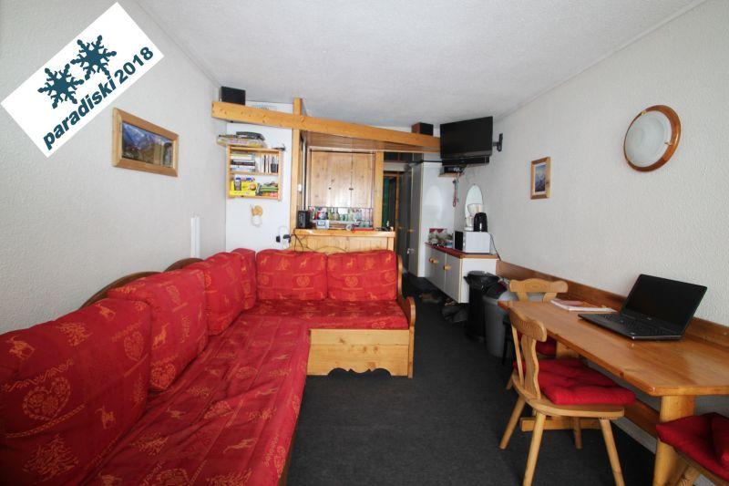 Soggiorno Affitto Monolocale 238 Les Arcs