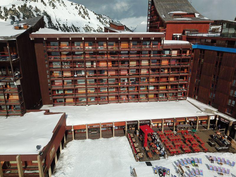 Vista esterna della casa vacanze Affitto Monolocale 238 Les Arcs