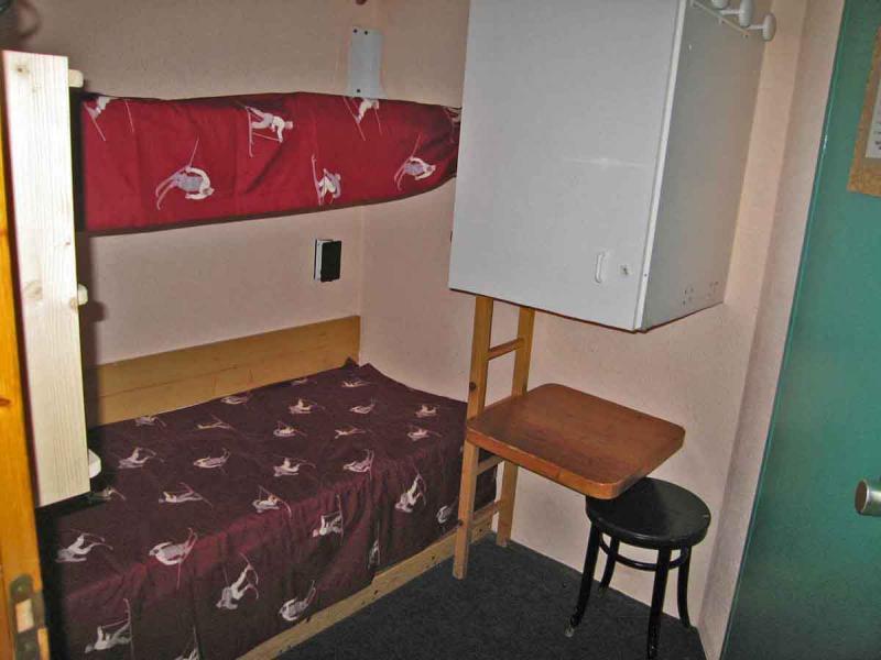 Zona notte cabina Affitto Monolocale 238 Les Arcs