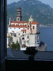Vista dal balcone Affitto Casa 24852 Amalfi