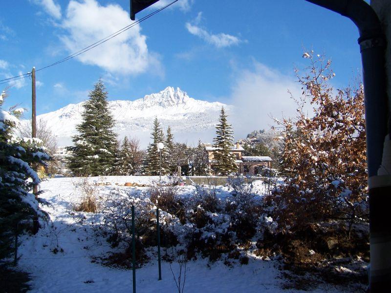 Vista dalla casa vacanze Affitto Chalet 2488 Réallon