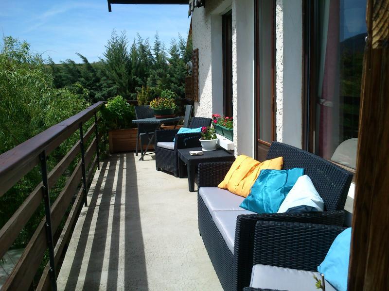 Vista dal terrazzo Affitto Chalet 2488 Réallon