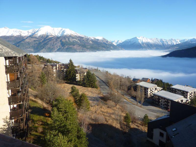 Vista dal terrazzo Affitto Appartamento 26719 Pra Loup