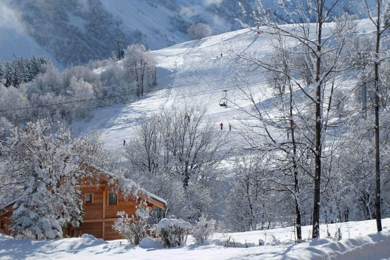Vista dal terrazzo Affitto Chalet 2686 Saint Sorlin d'Arves