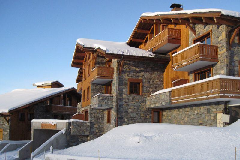 Vista esterna della casa vacanze Affitto Appartamento 27102 La Rosière 1850