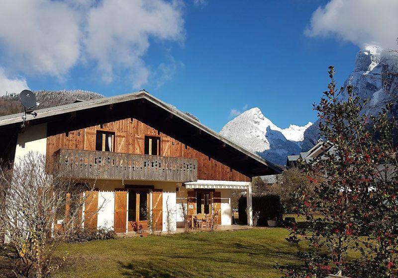 Vista esterna della casa vacanze Affitto Appartamento 2791 Samoëns