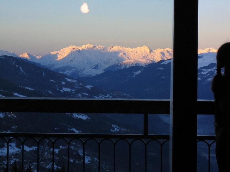 Vista dal balcone Affitto Appartamento 28016 Les Arcs