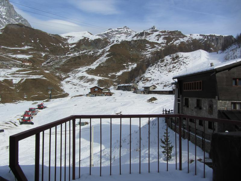 Vista dal terrazzo Affitto Appartamento 28644 Cervinia (Breuil)