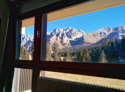 Vista dalla casa vacanze Affitto Appartamento 28711 Madonna di Campiglio