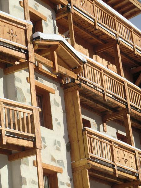 Vista esterna della casa vacanze Affitto Appartamento 28873 Chamrousse